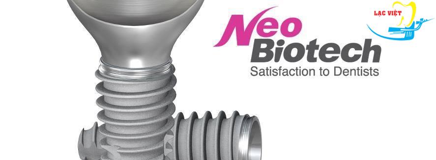 Trồng răng implant giá rẻ nhất với implant Neo Biotech