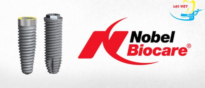 Trồng răng implant giá rẻ với implant Straumann của Thụy Sĩ và implant Nobel Biocare của Mỹ