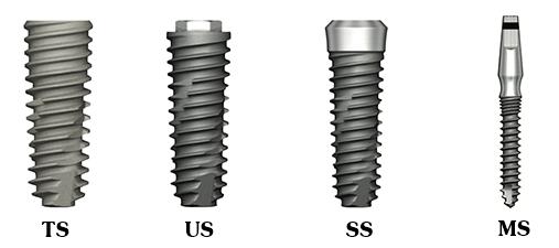 Trồng răng giả implant bao nhiêu tiền phụ thuộc vào loại fixture của từng hãng implant khác nhau.