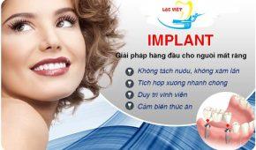Người cắm implant có bị đau về sau không