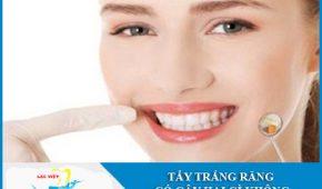 Phân tích cụ thể: Tẩy trắng răng có hại gì không